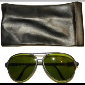 823bce73e6b6bc Paire de lunettes de soleil Armée Française 1er Type avec étui NEUVE
